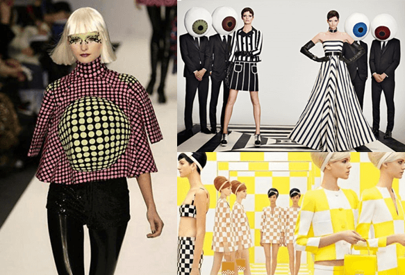 Op Art And Fashion Vivid Optical